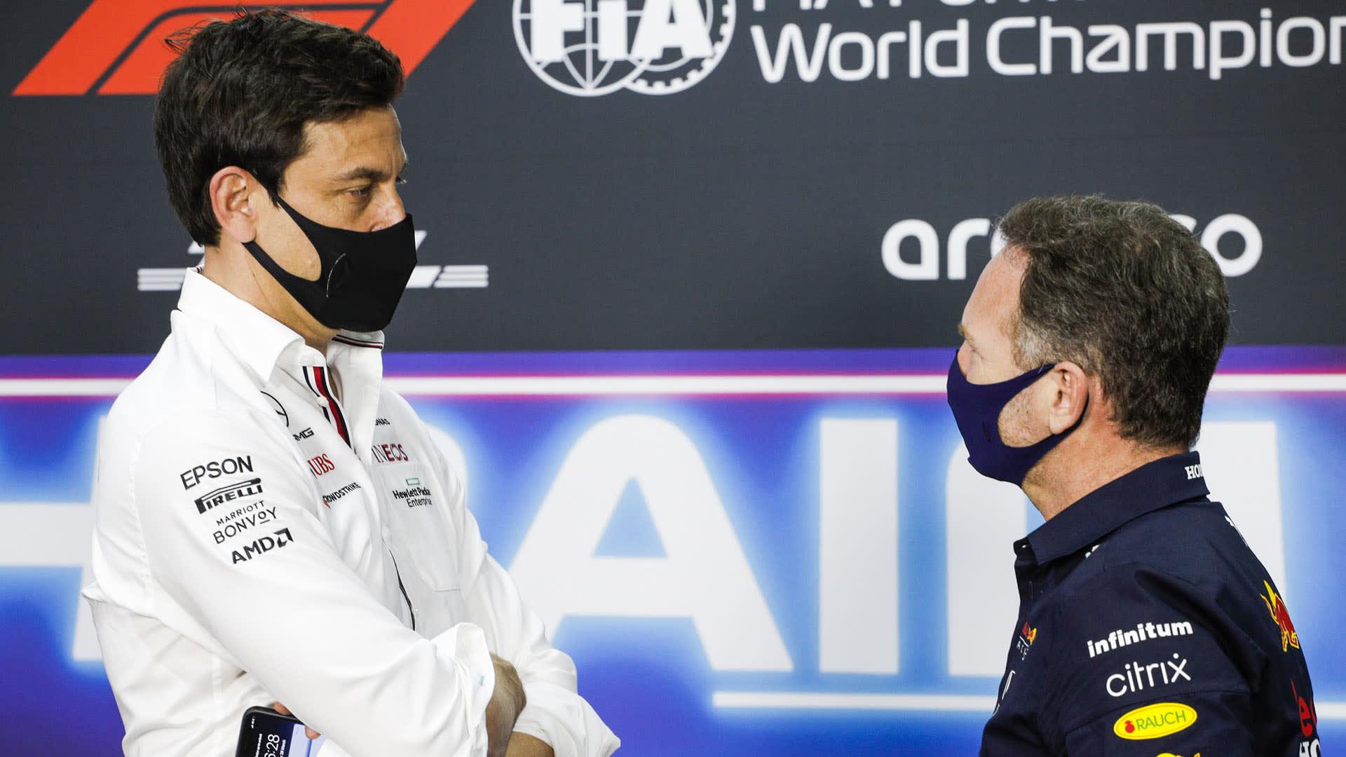 Wolff: 'Sorprendido por la reacción de Red Bull a sus  comentarios sobre la UP de Honda'