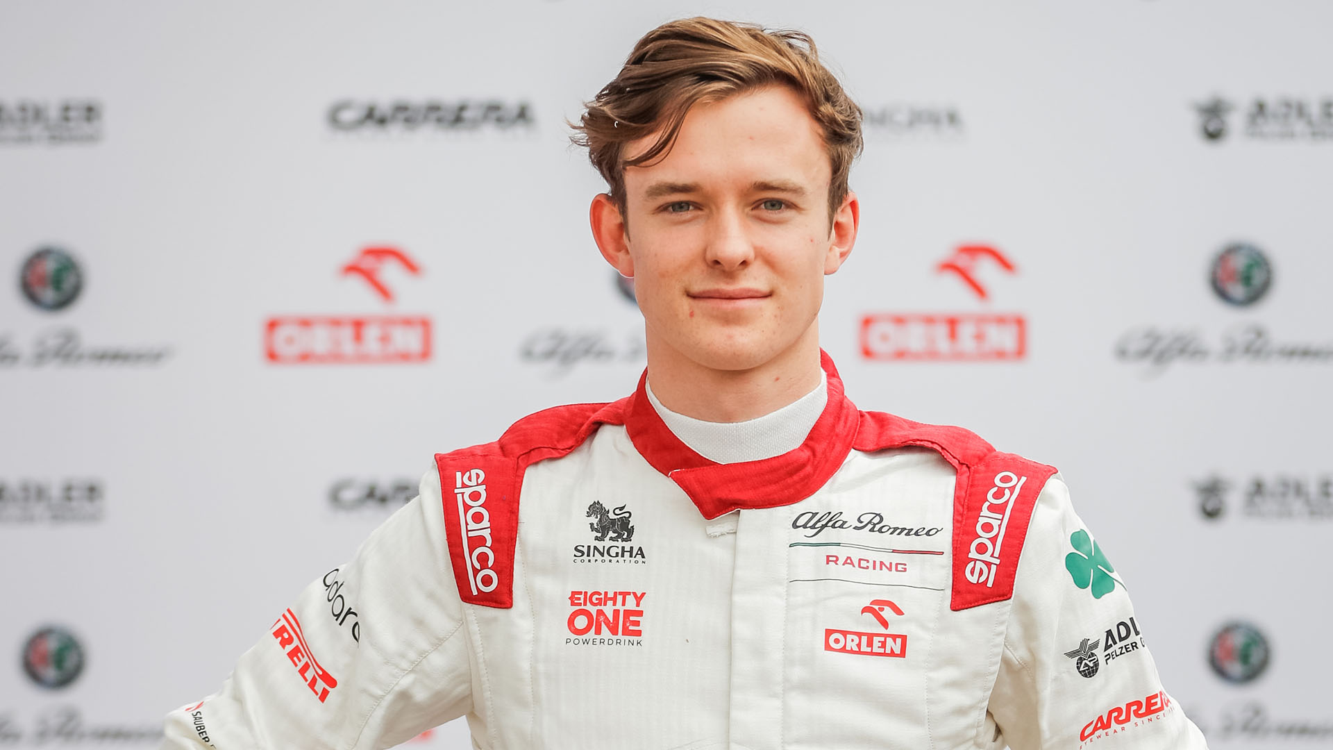 Nice to be thrown in the deep end' says Ilott as he remains coy on Alfa  Romeo race chance after FP1 debut   Formula 1®