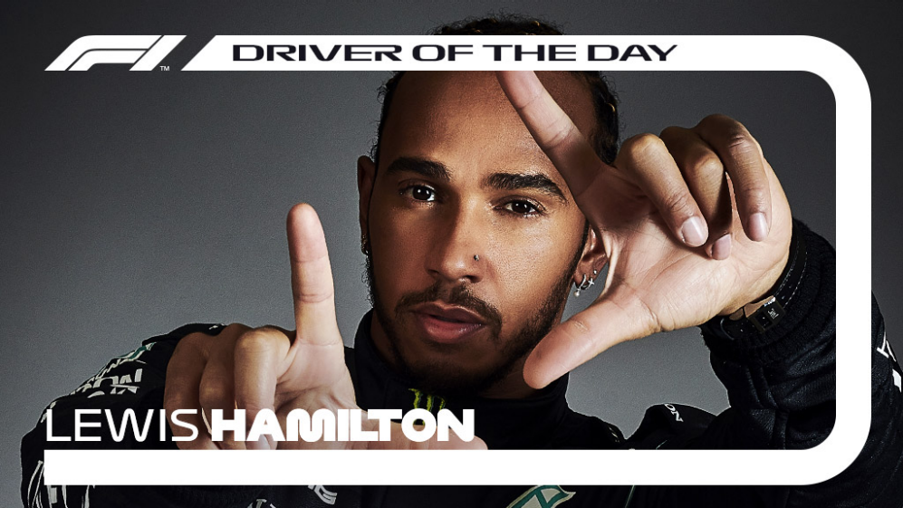 Driver Of The Day Hamilton Adds Fan Honours To Barcelona Victory Formula 1