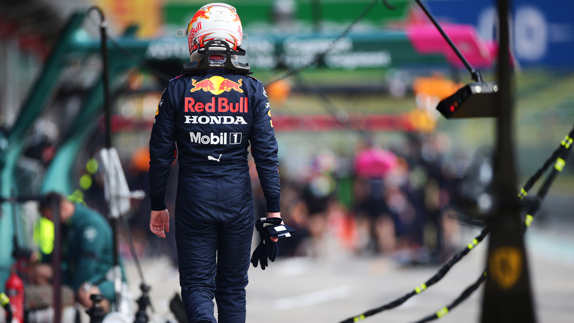 Max Verstappen says Mercedes Imola pace 'no surprise', as he reveals cause of FP2 failure