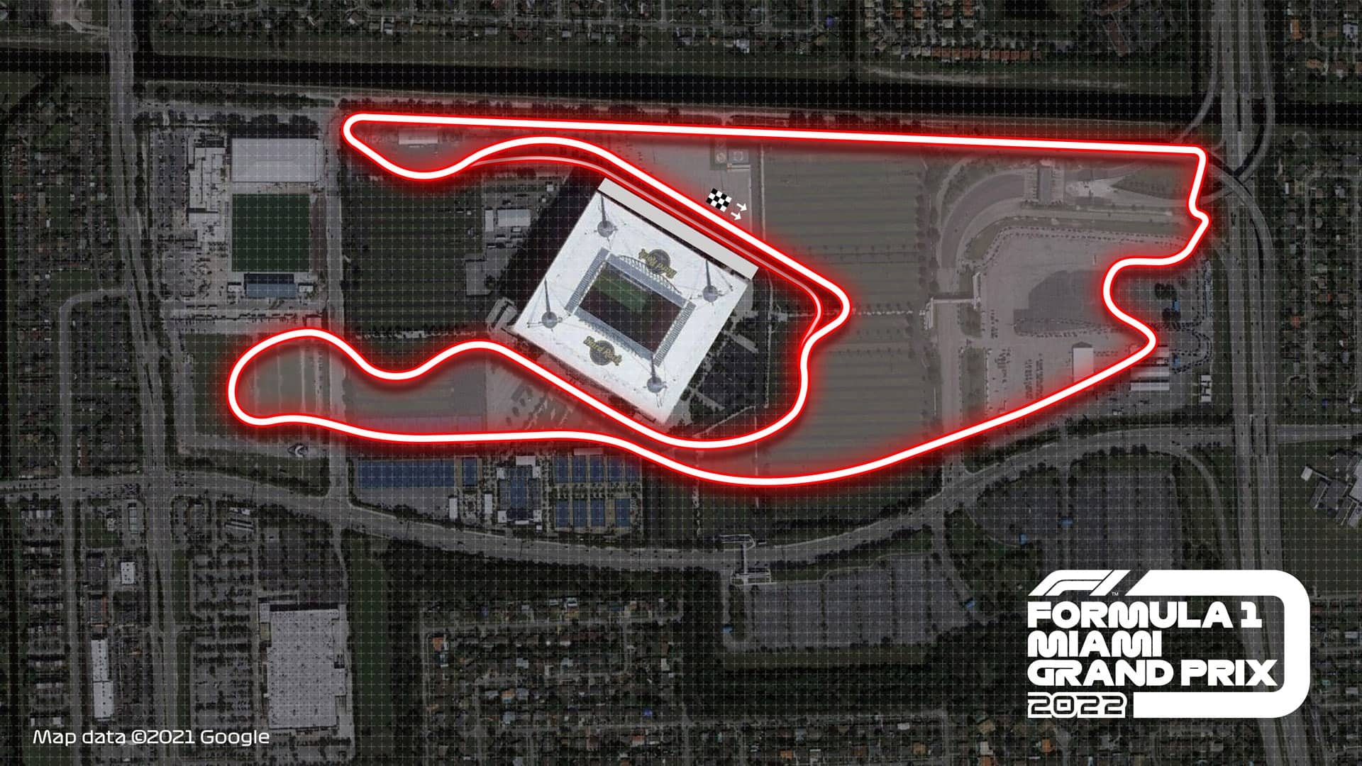 Las Vegas Calendar 2022.Miami Grand Prix To Join F1 Calendar In 2022 With Exciting New Circuit Planned Formula 1