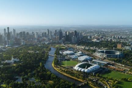 Melbourne\'s Sporting Precinct