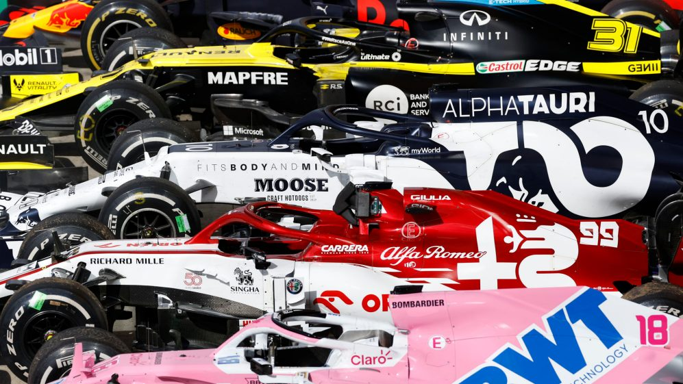 What The Teams Said Race Day In Great Britain Formula 1