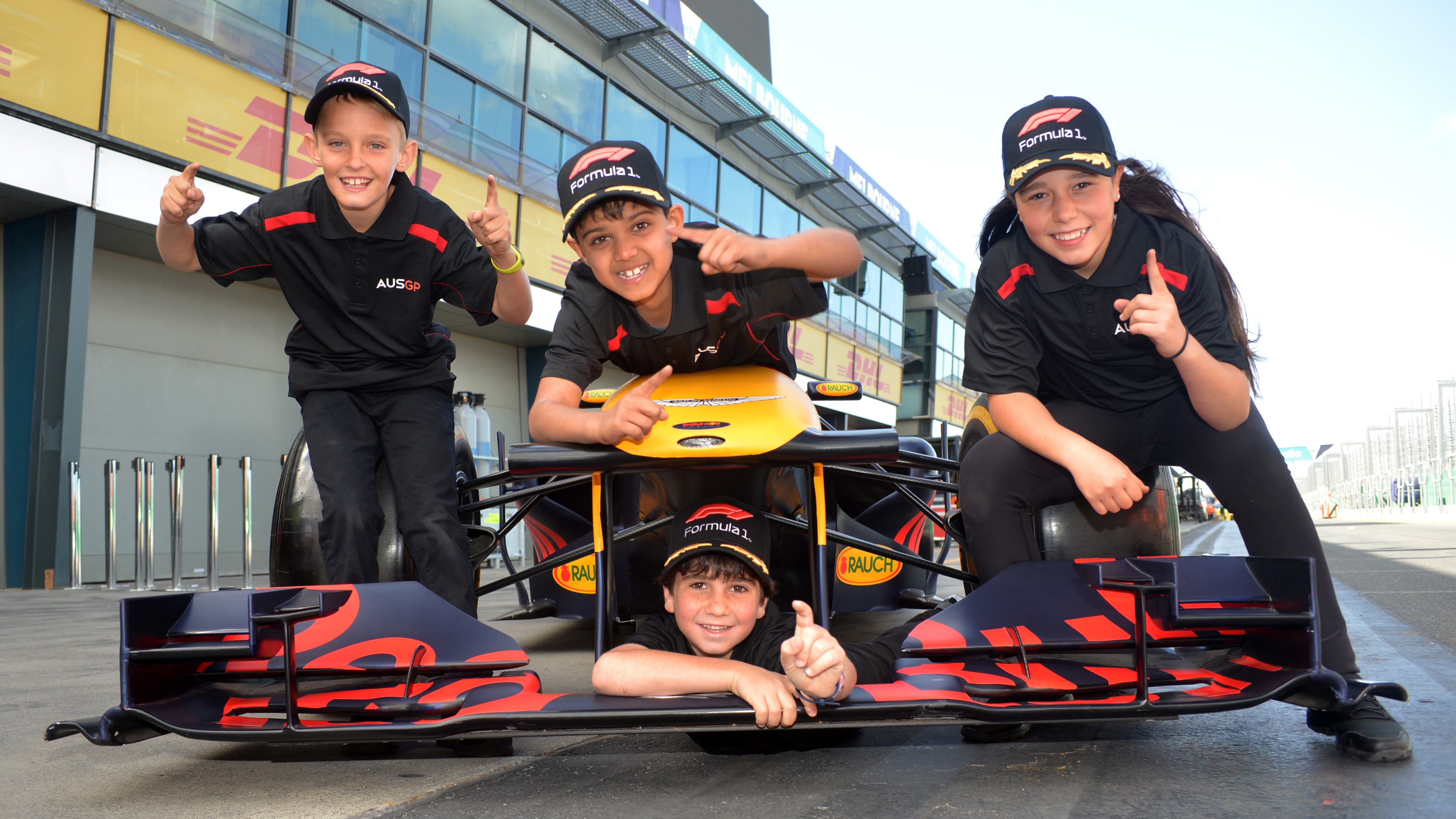 FIA F1 Future Stars take centre stage