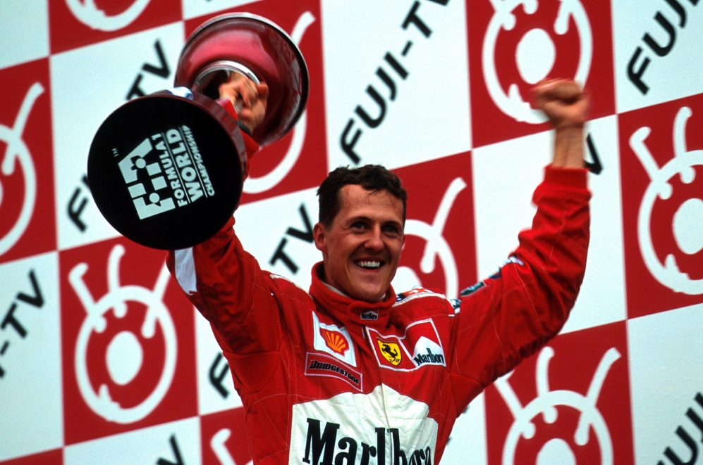 Michael Schumacher 2000 title