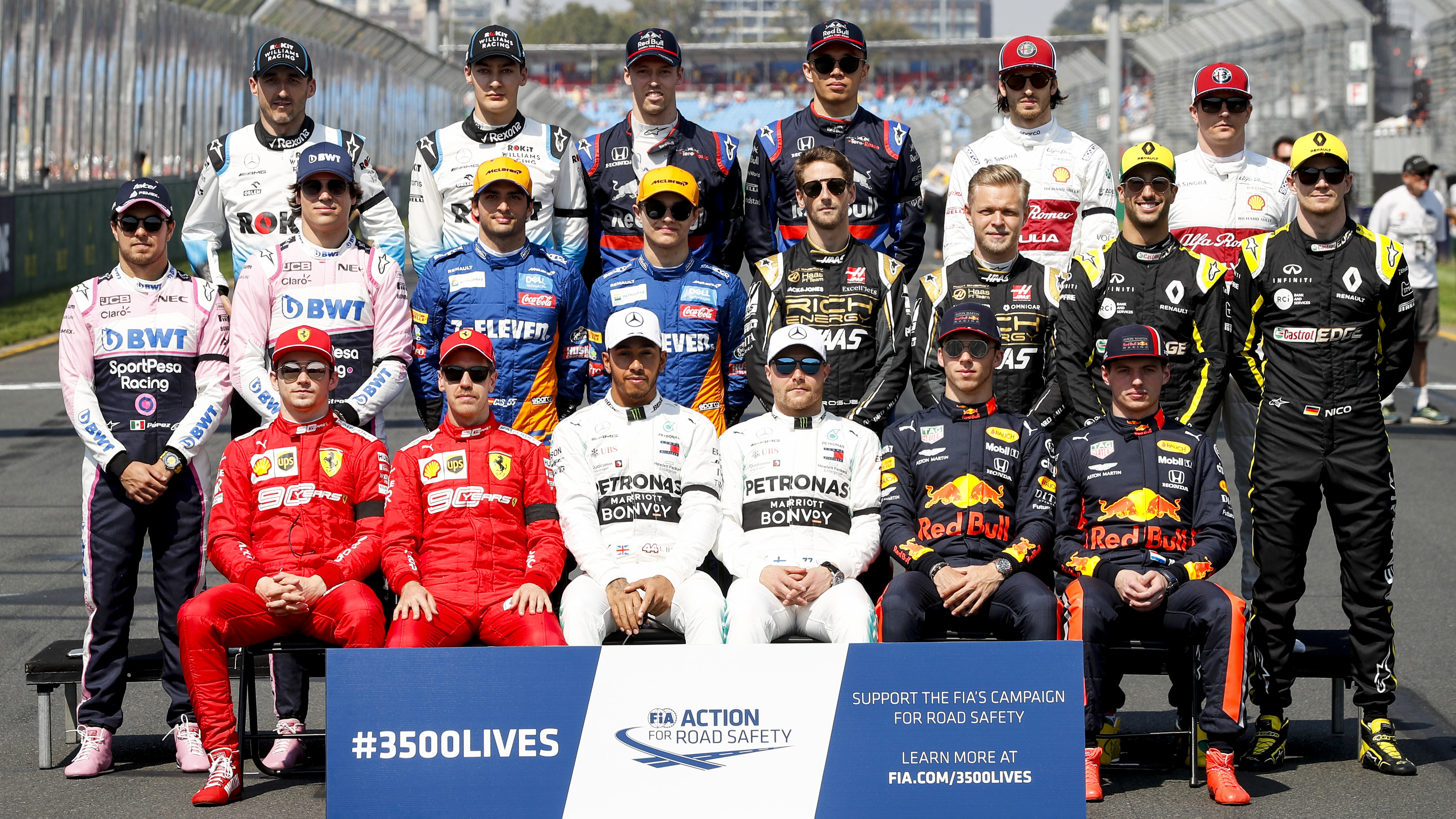 2019 F1 driver line-ups: Vote for which team has the best ...