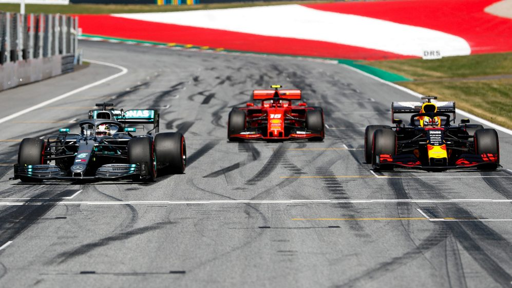 Hamilton wants harder championship fight from Leclerc and Verstappen | Formula 1®