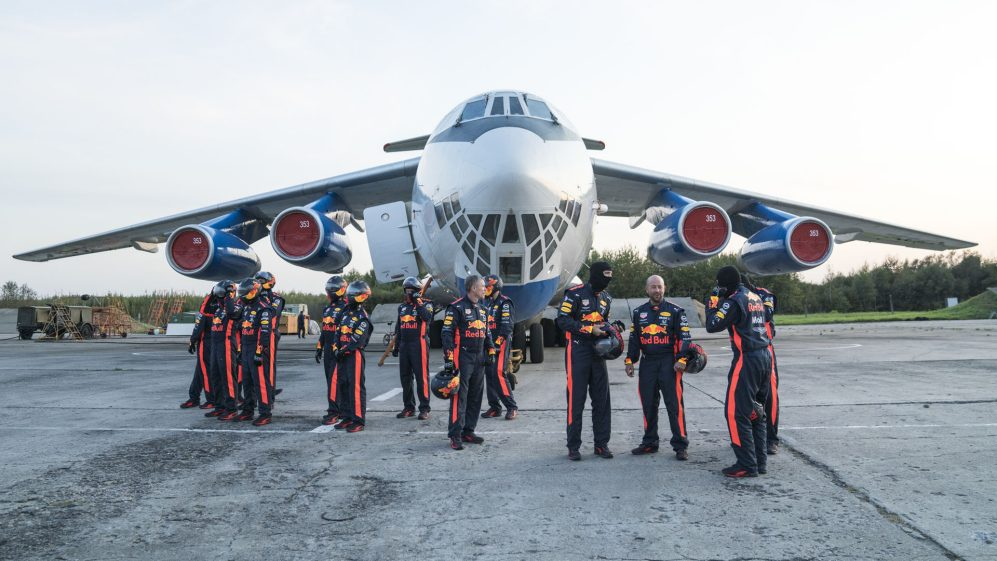 WATCH: Red Bull perform a pit stop in zero gravity | Formula 1®