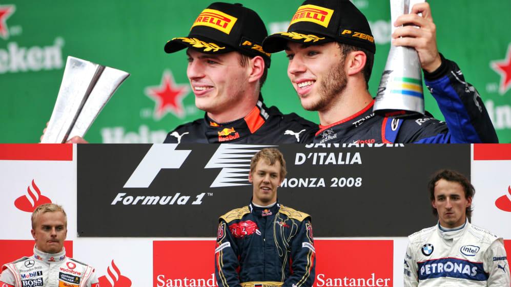 New podium record established! Brazil 2019 trumps Monza 2008 for youngest F1 podium | Formula 1®