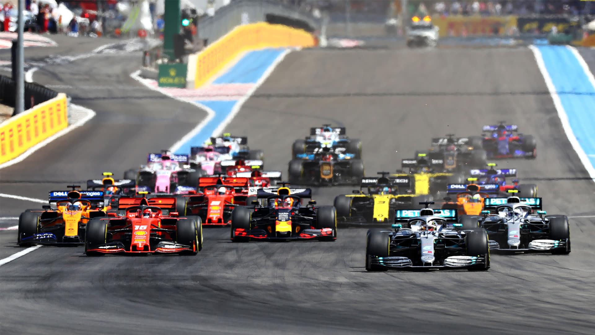 Regeländerung F1 2020