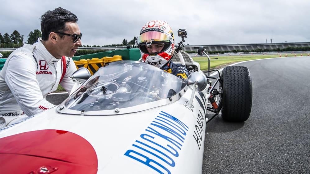 VIDEO: Max Verstappen drives a 1960s Honda F1 car   Formula 1®