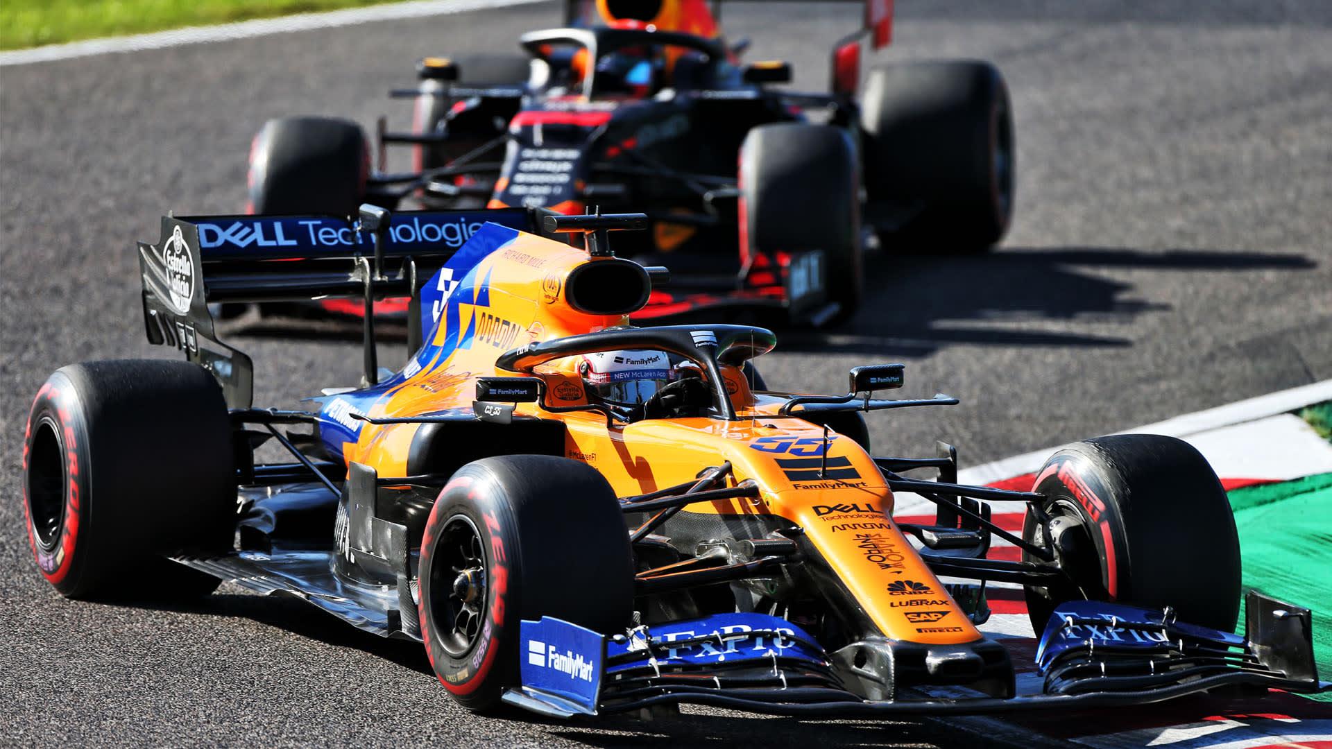 Japanese Grand Prix 2019 Sainz Celebrates Perfect Day In Suzuka After Finishing Fifth Formula 1