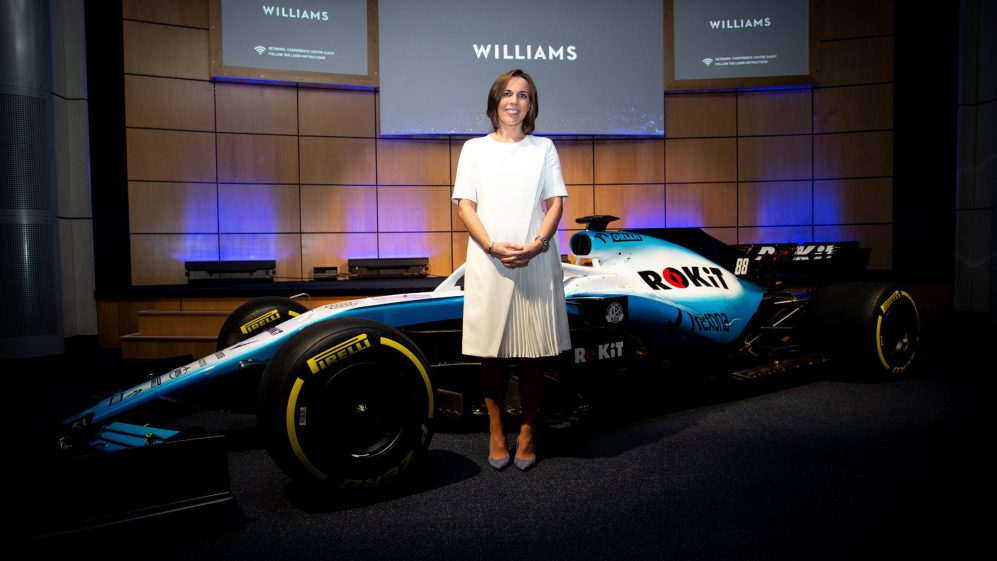 Williams Racing Livery Unveil