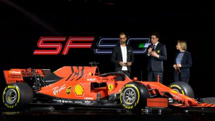 Ferrari presents new F1 auto, SF90, to challenge Mercedes