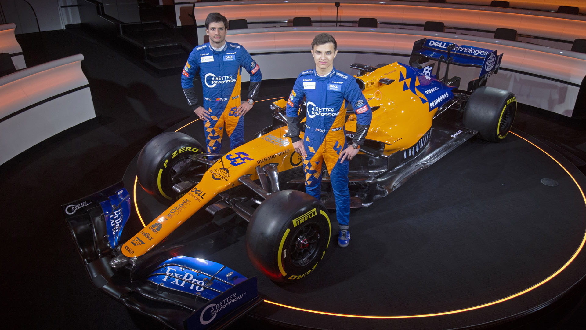 Mclaren Mcl34 Launch The Team S New 2019 F1 Car Revealed Formula 1