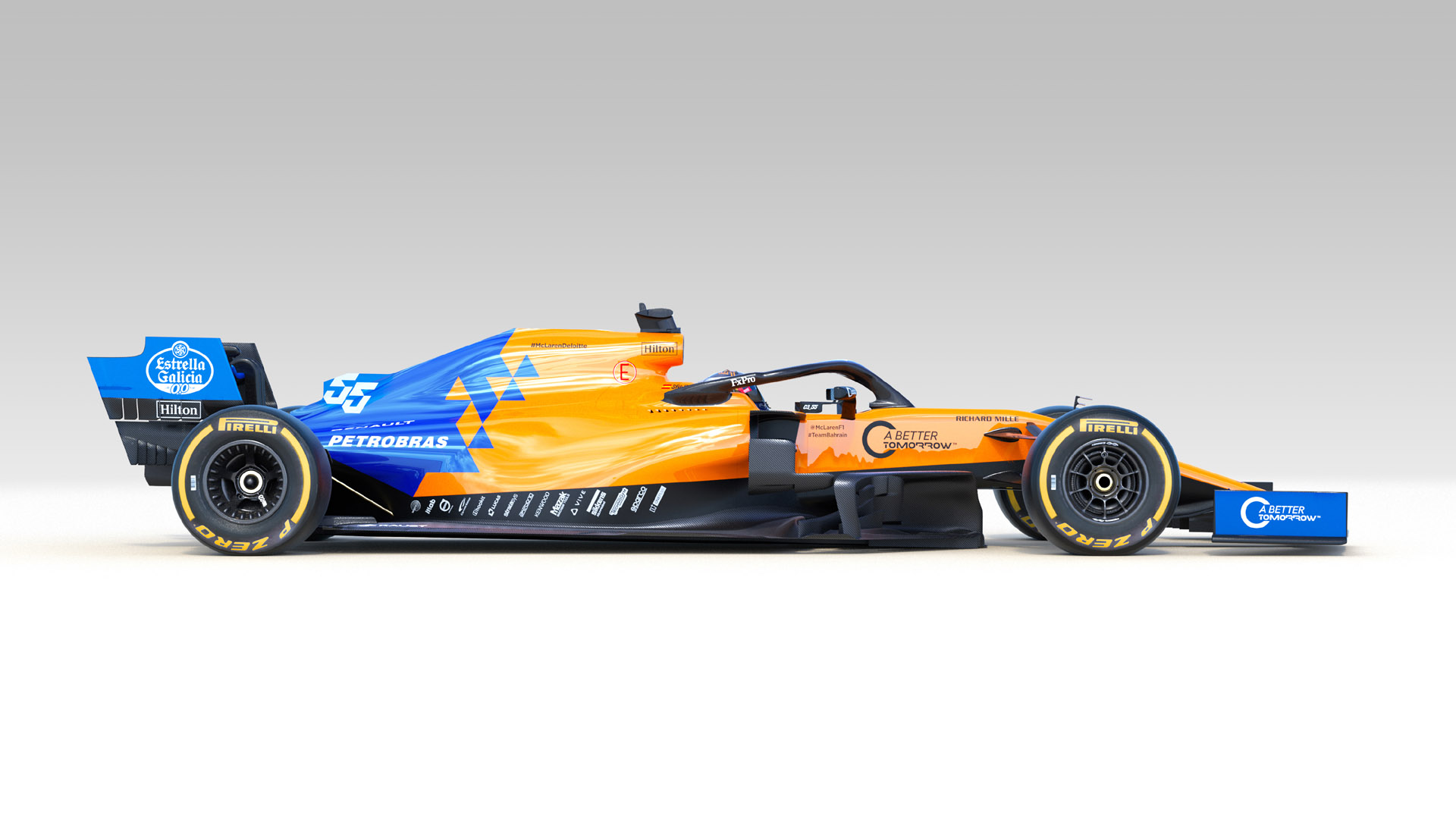 mclaren mcl34 gallery - all the angles of the teams 2019 f1 car