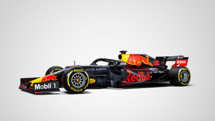 Red Bull RB15 F1 vehicle livery release at Barcelona winter testing 2019