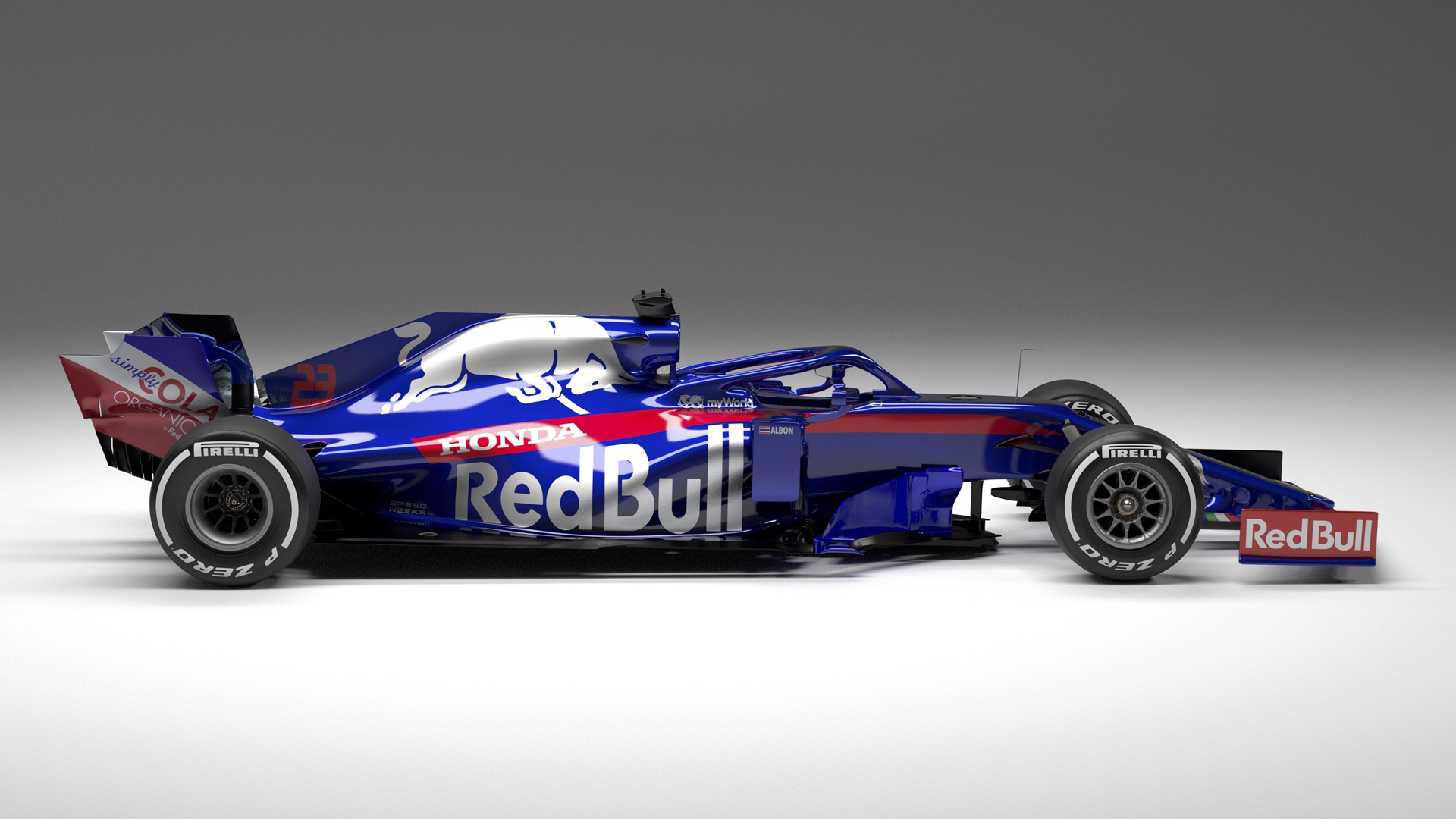 Toro Rosso Embrace Red Bull Synergy With Launch Of New Str14 F1 Car Formula 1