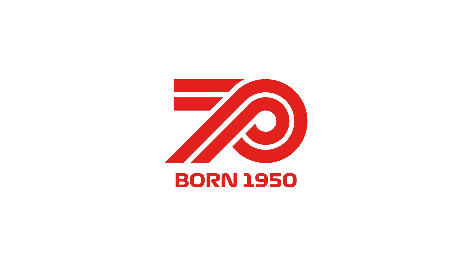 Logo F1 70 ans