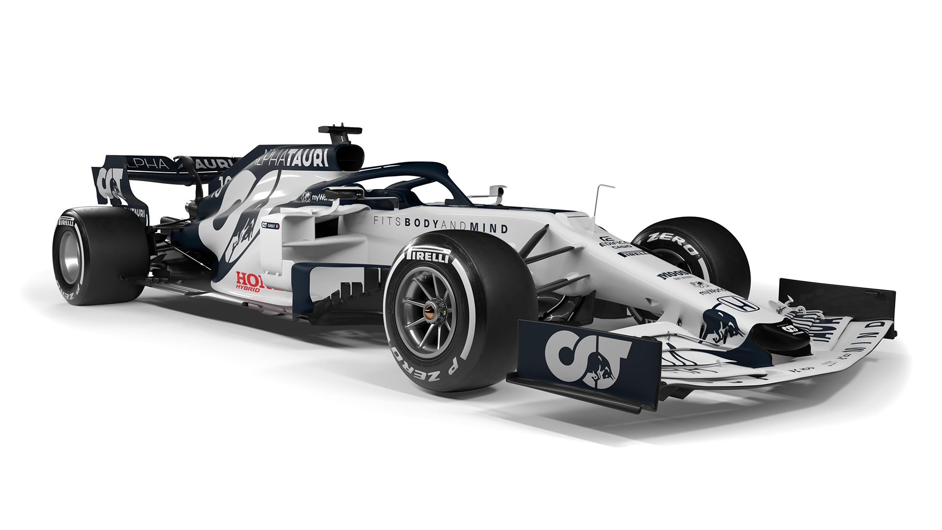 Alphatauri Reveal 2020 Livery After Toro Rosso Rebrand Formula 1
