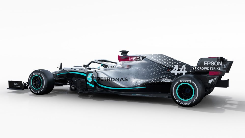 Mercedes reveal 2020 F1 car, the W11, ahead of track debut ...