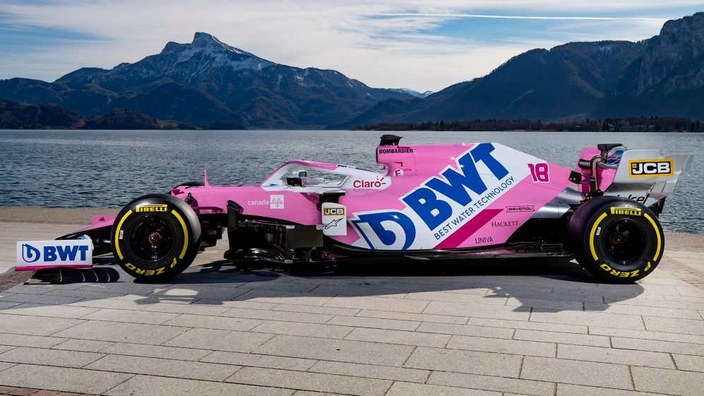 Racing Point reveal 2020 F1 livery and title sponsor change ...