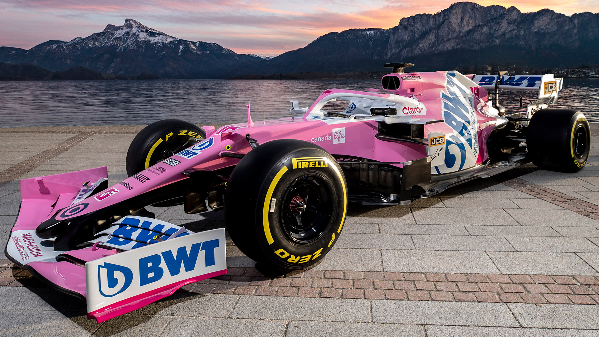 Racing Point Reveal 2020 F1 Livery And Title Sponsor Change Formula 1