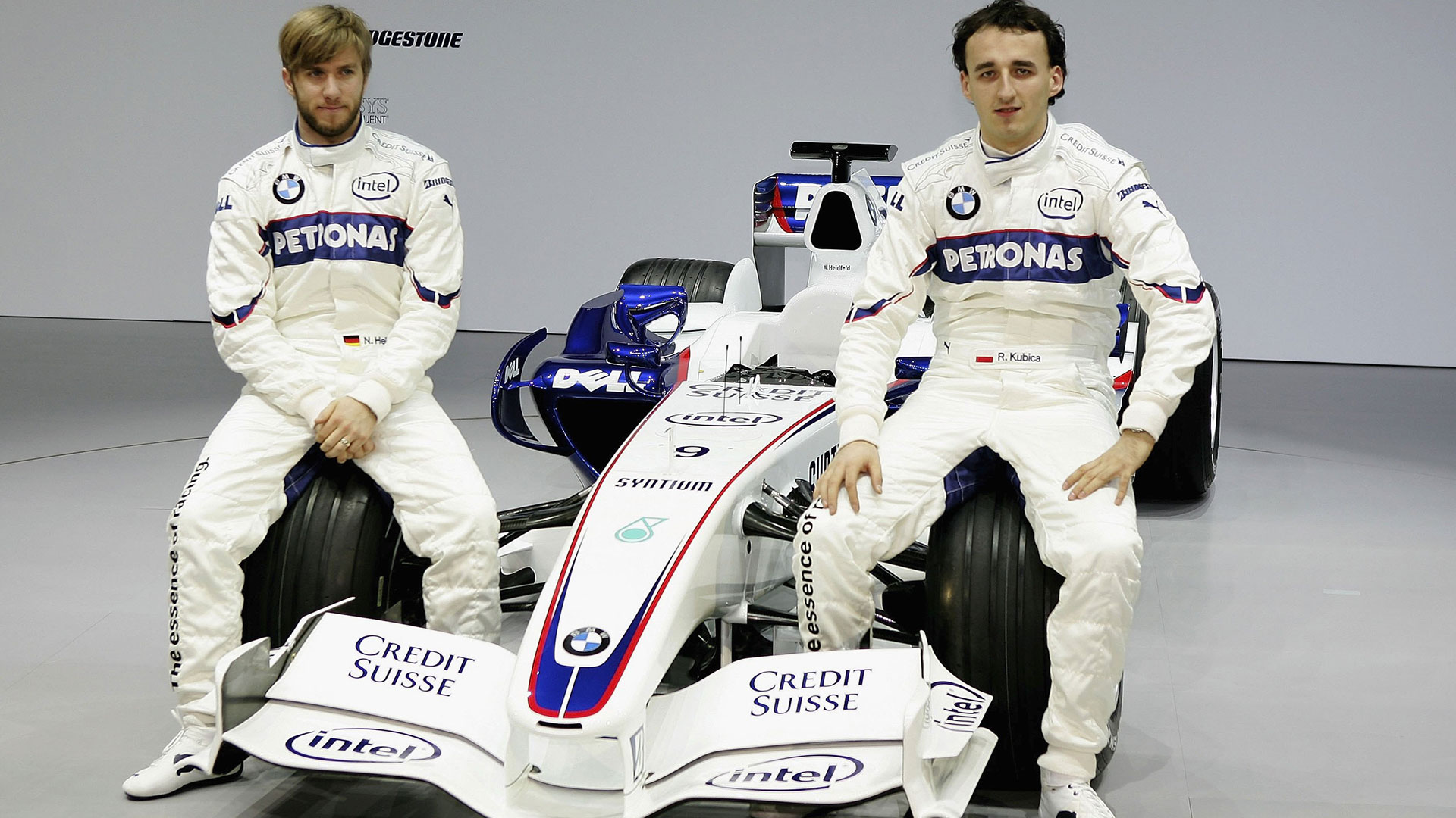 Robert Kubica Didn T Help Himself With Comments To Press At Bmw Sauber Says Nick Heidfeld Formula 1
