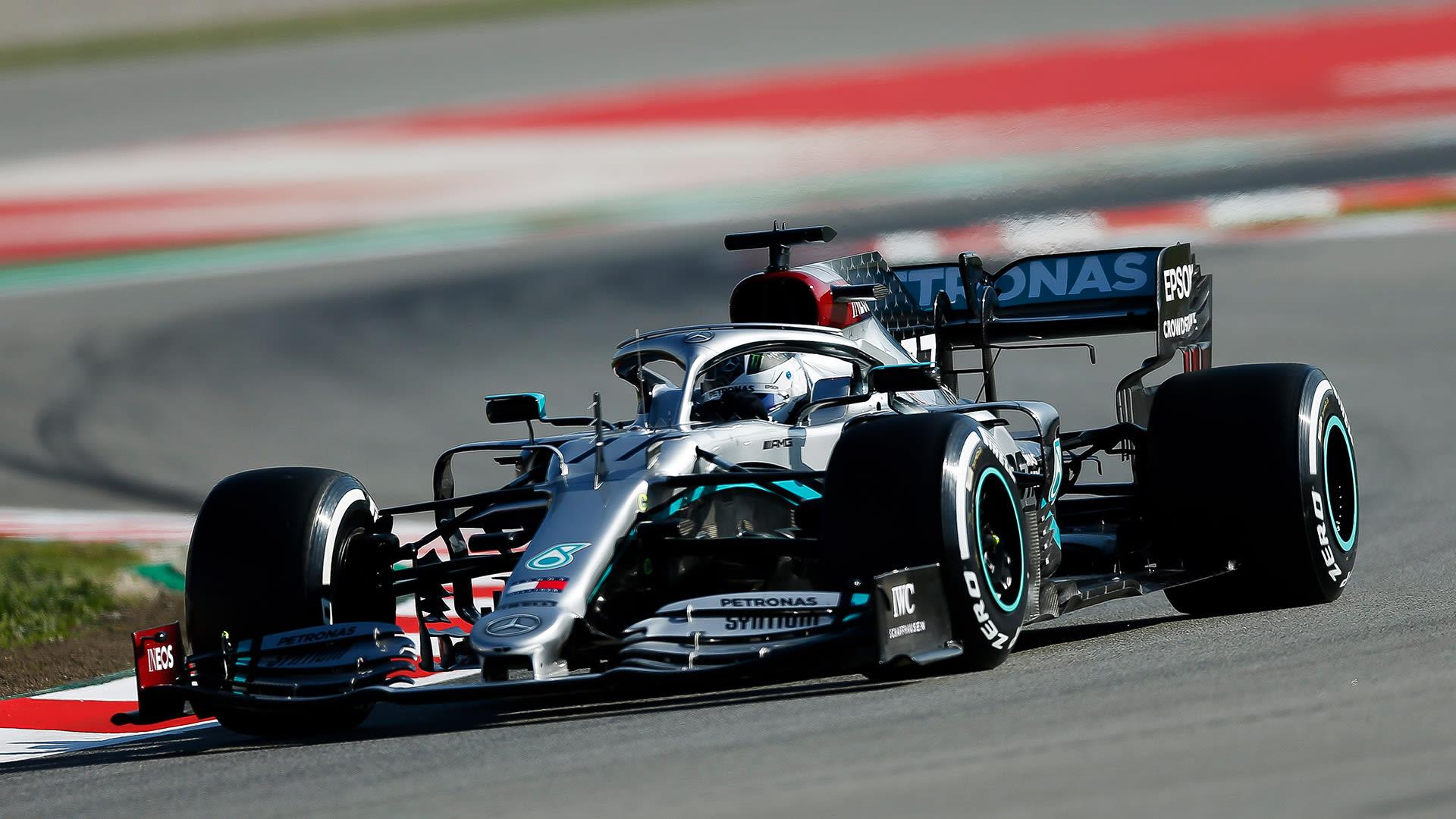 F1 pre-season testing day 1: Valtteri Bottas fastest on opening morning ahead of Sergio Perez and Max Verstappen   Formula 1®