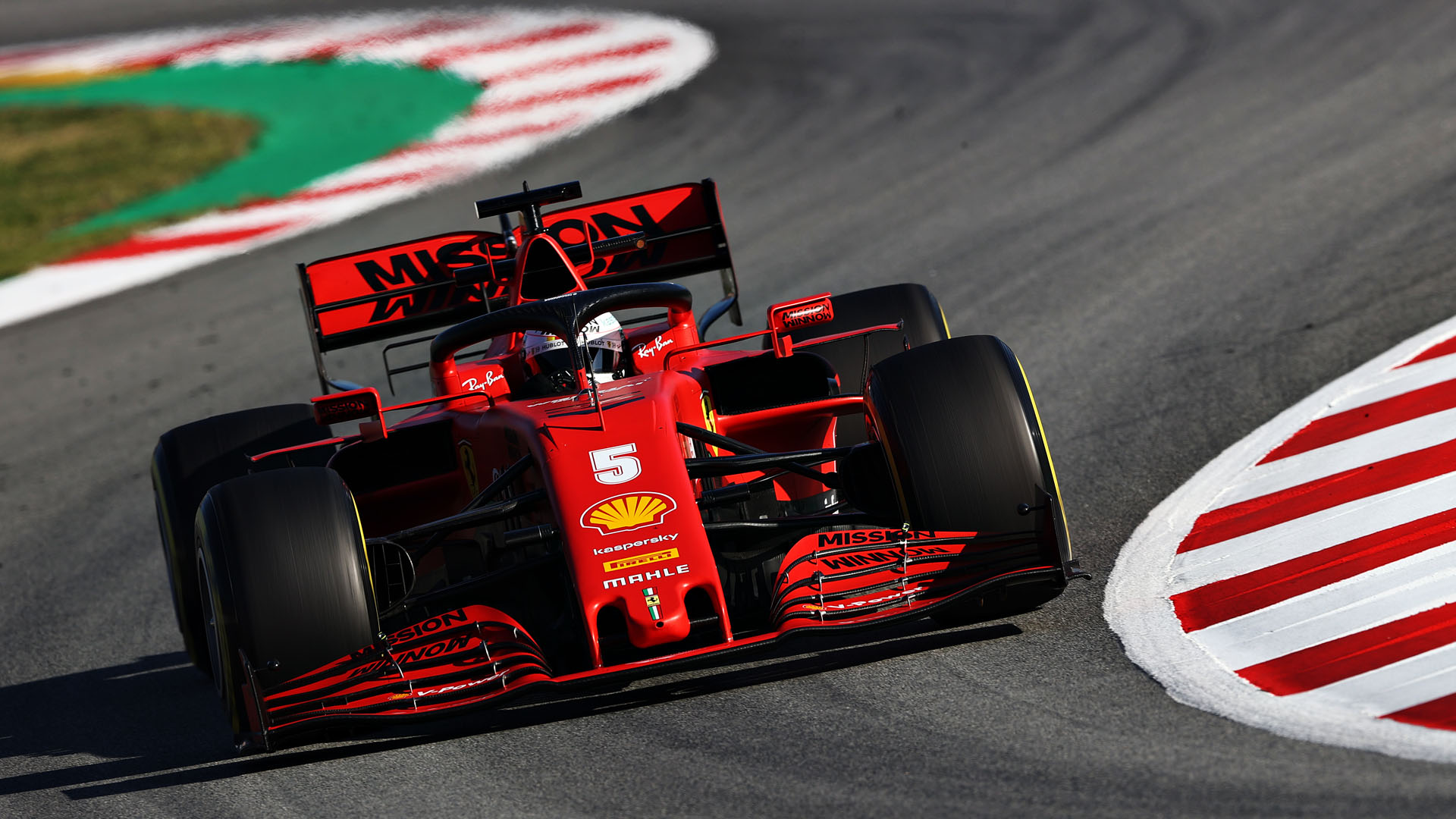 Sebastian Vettel Ferrari Sf1000 Definitely A Step Up From Last Year Formula 1