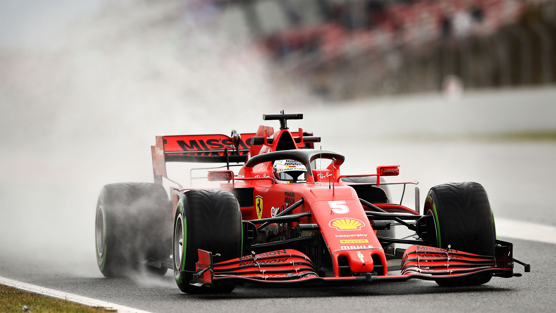 F1 2020 Pre Season Testing Day 2 Week 2 Report And Highlights Vettel Puts Ferrari Top As Verstappen Beaches Red Bull On Second Day Of Week 2 Formula 1