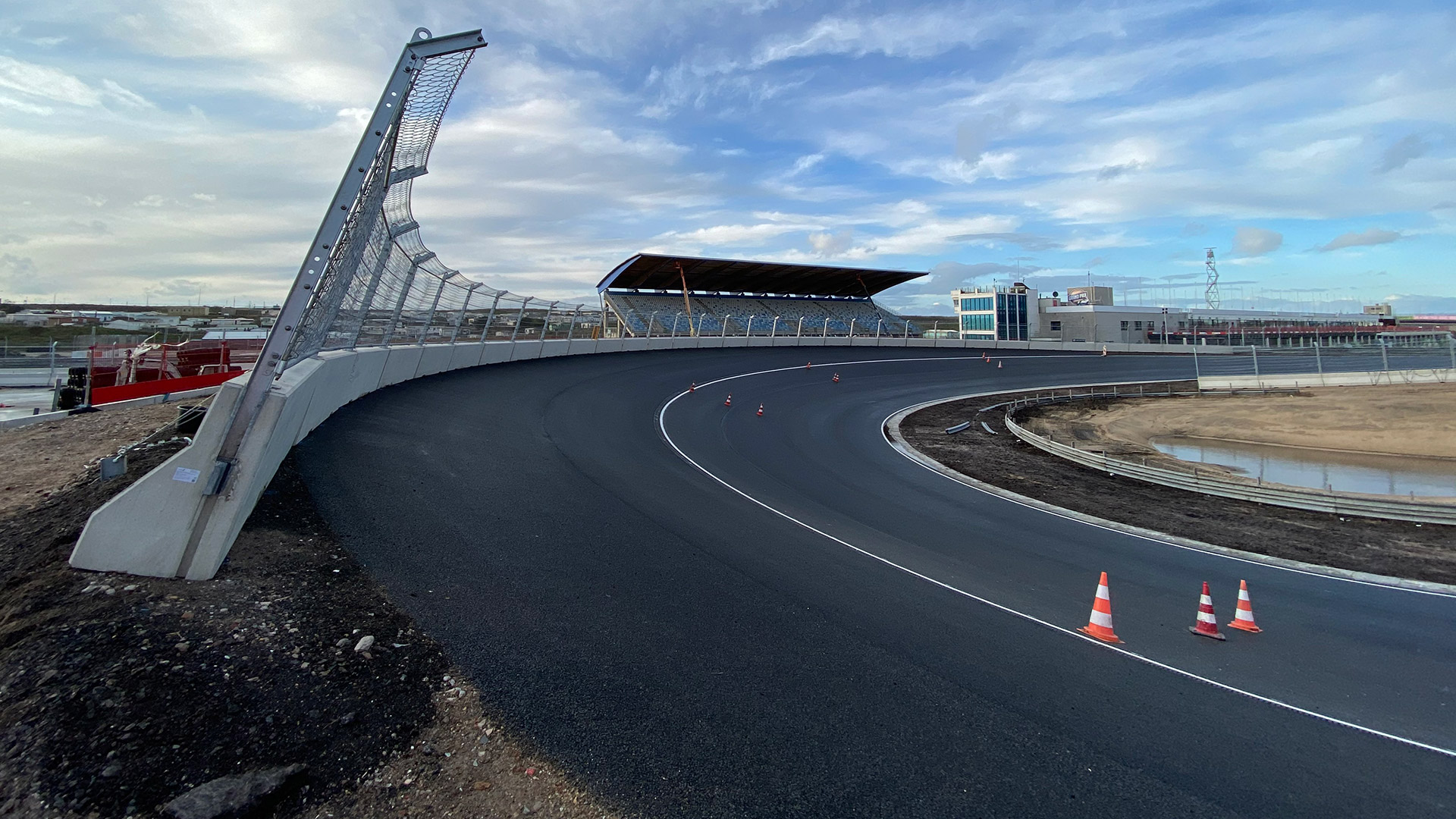 First Images Of Zandvoort S Completed Banked Corners Revealed Ahead Of 2020 Dutch Grand Prix Formula 1