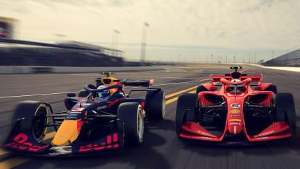 3 cars Red Bull