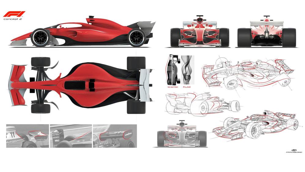 Concept 2 de los nuevos F1