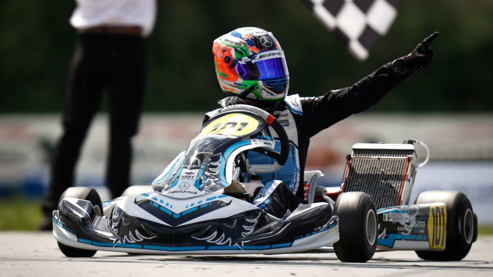 Campeonato de Europa, AUNAY-LES-BOIS, Carrera Internacional