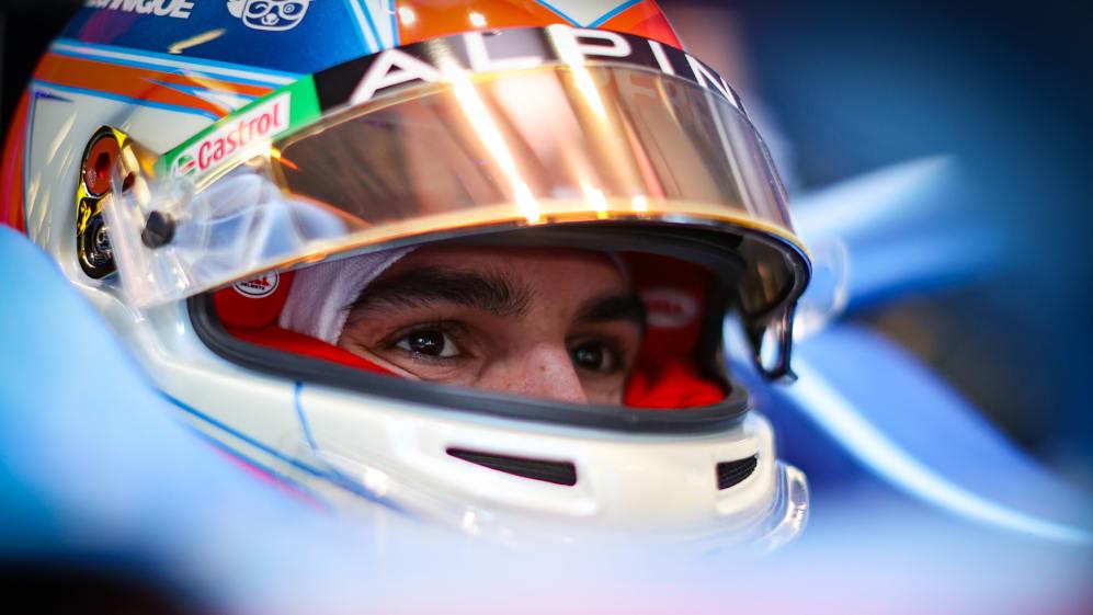 Esteban Ocon by f1.com