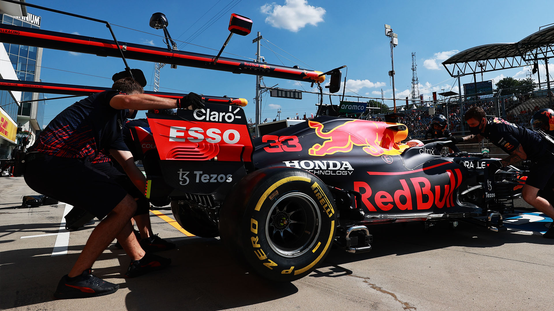 Verstappen's Silverstone crash power unit given the all-clear by Honda after Friday running in Hungary