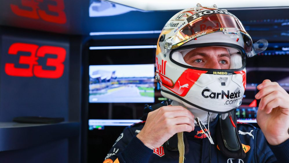 Max Verstappen, photo by F1 official