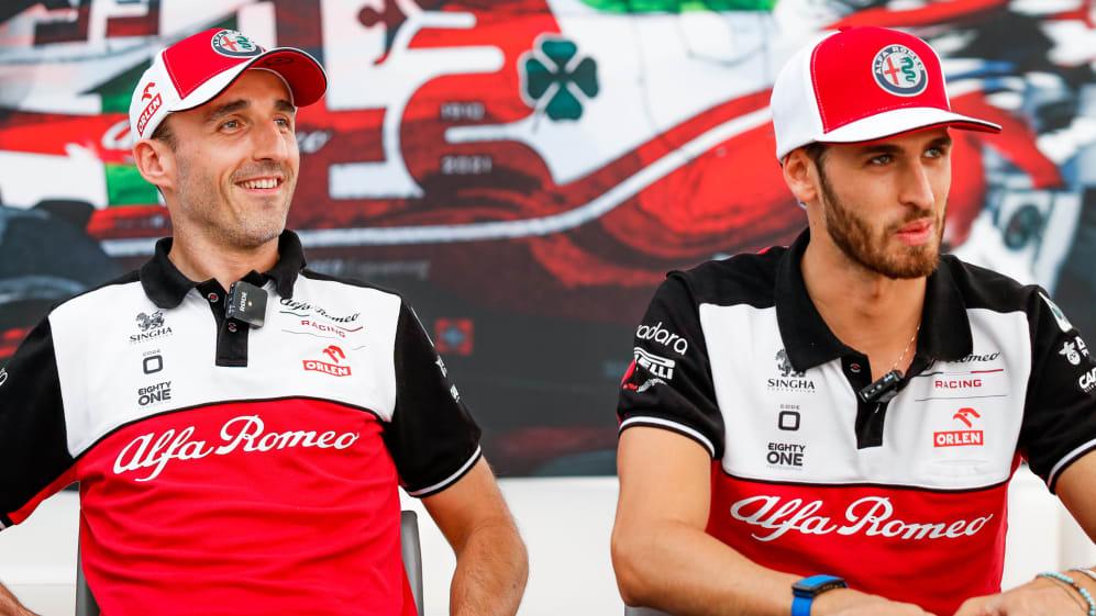 Robert Kubica and Antonio Giovinazzi