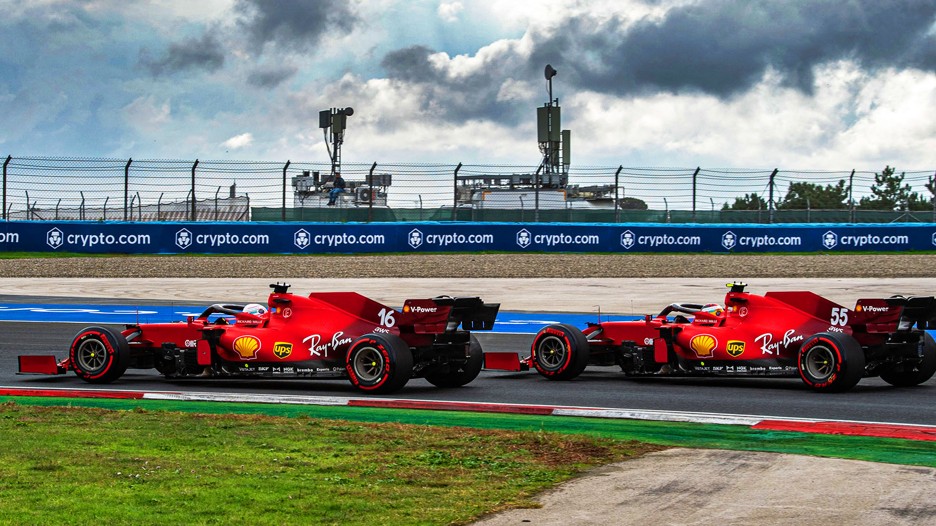 Binotto reveals new-spec hybrid system was key to strong Ferrari performance in Istanbul | Formula 1®