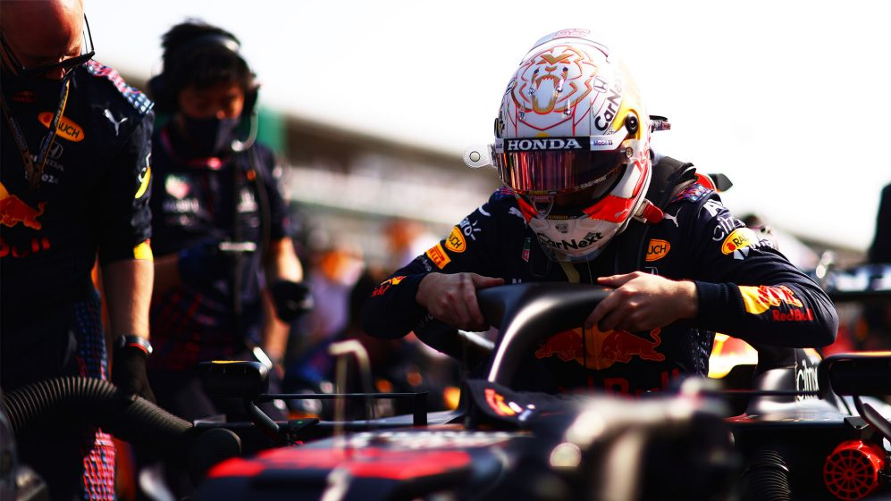 Max Verstappen before Turkish Grand Prix photo by F1 official
