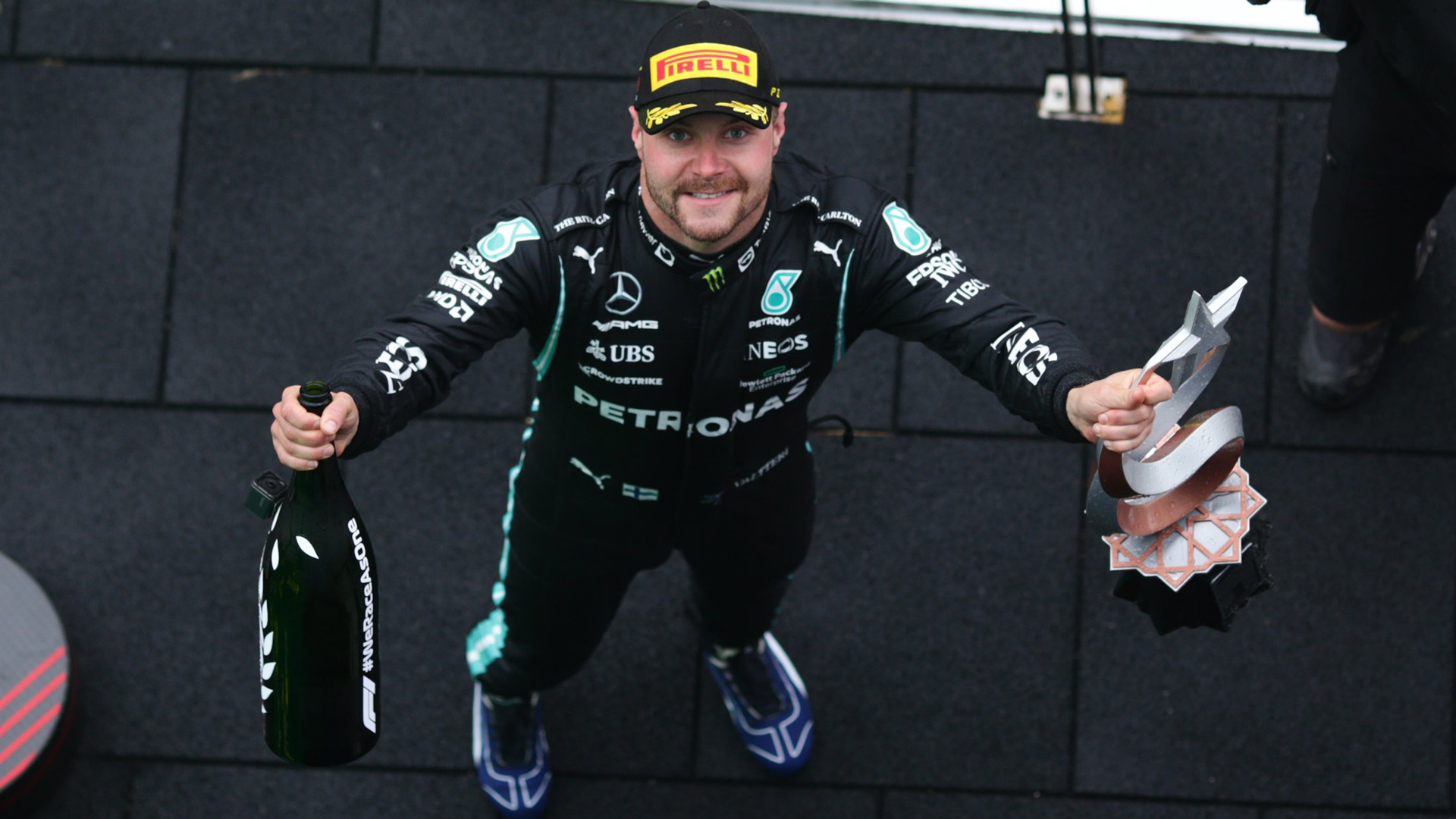 TREMAYNE: Redemption can rarely have tasted so good for Bottas in Turkey after his year from hell