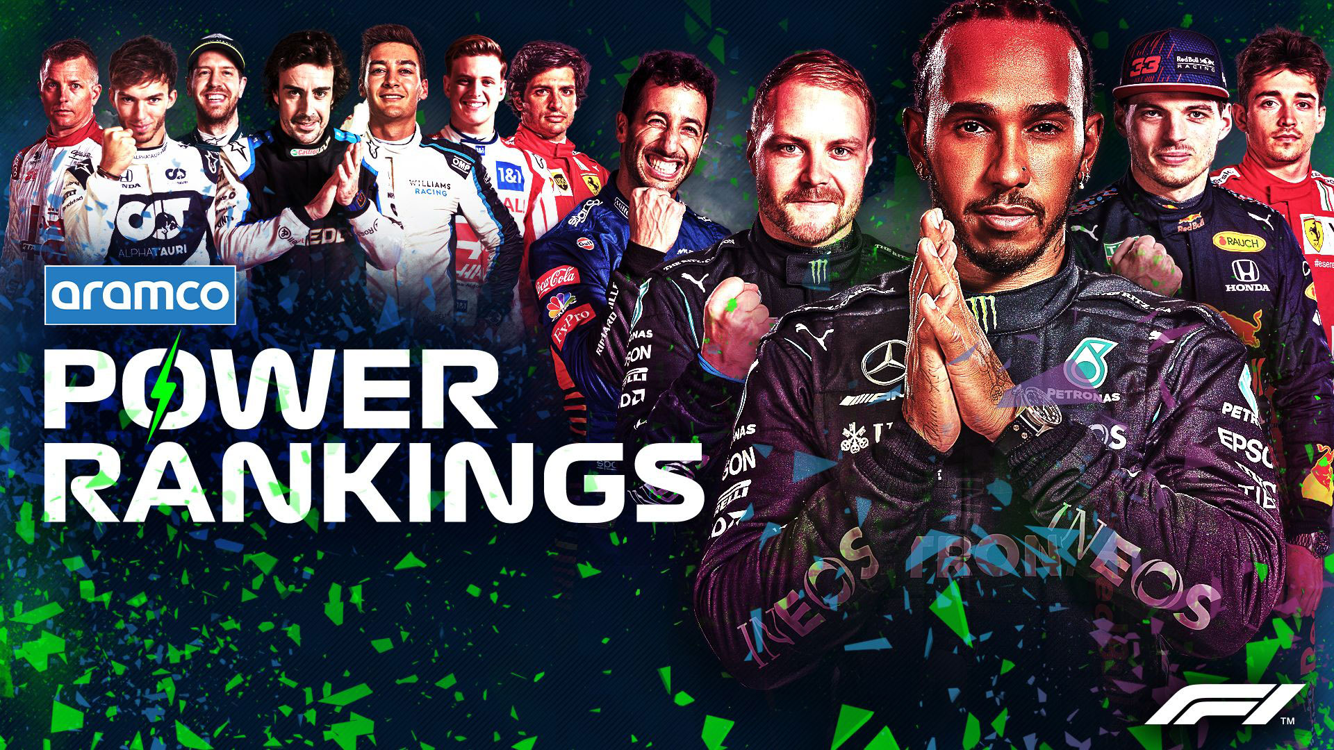 F1 POWER RANKINGS: Who impressed our judges most on F1's return to Austin?