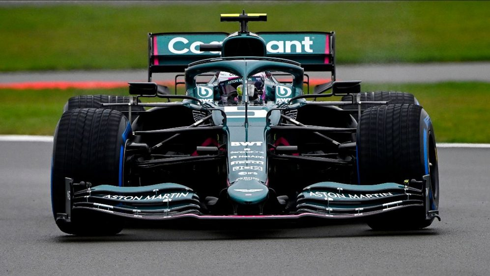 Vettel On Track For Aston Martin For The First Time As He And Stroll Shakedown Amr21 At Silverstone