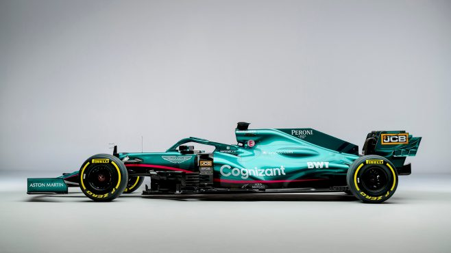 The Return Of An Icon And Lofty Ambitions 5 Takeaways From Aston Martin S Star Studded 2021 Launch Formula 1