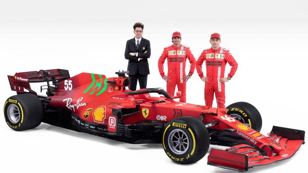 Ferrari Strived To Improve The Sf21 In All Areas Says Binotto As Team Unveil 2021 Challenger Formula 1