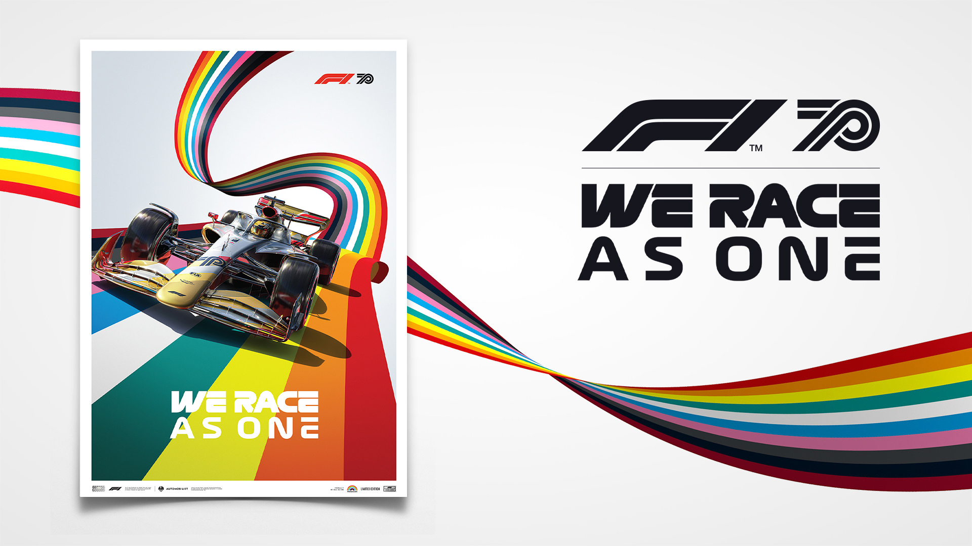 Get Your Hands On A Brand New F1 Weraceasone Poster With All Proceeds Going To Charity Formula 1