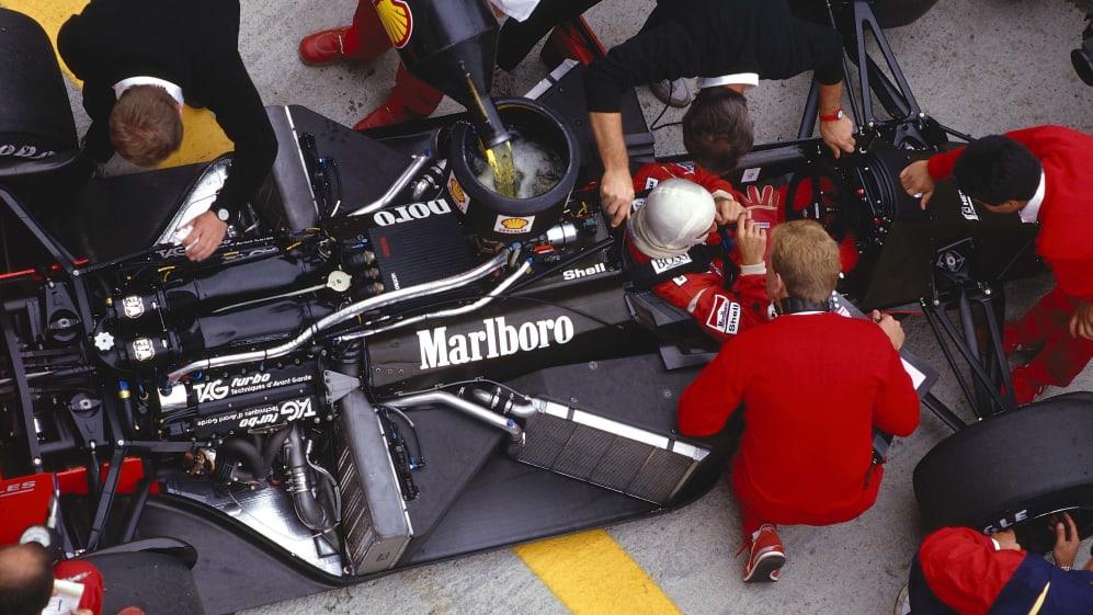 1987 Hungarian Grand Prix.