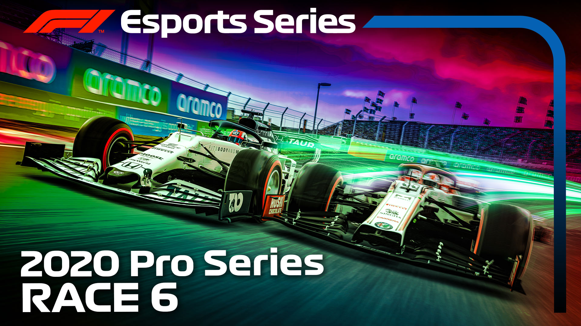 WATCH – F1 Esports Series, Race 6, presented by Aramco | Formula 1®