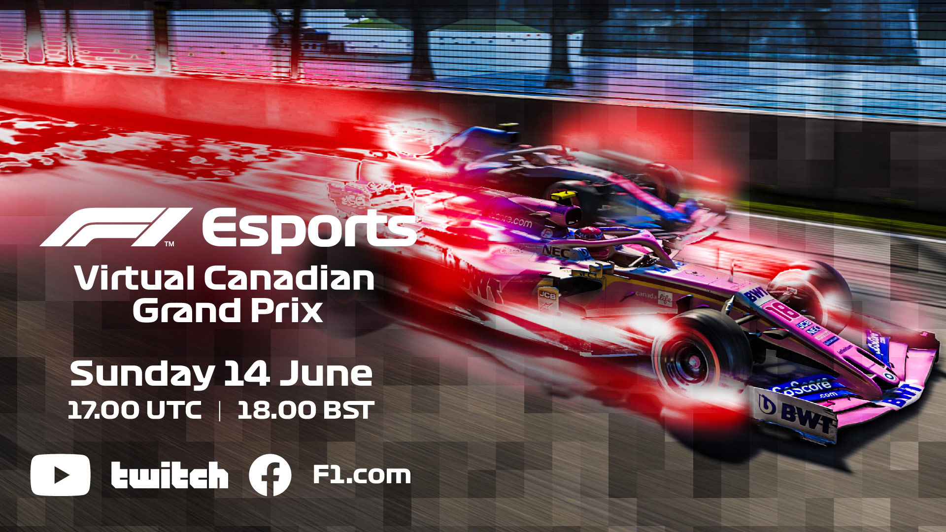 Virtual Canadian Grand Prix: Five F1 drivers on the grid